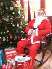 Santa Father Christmas Costume Suit
