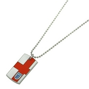 ENGLAND/ST GEORGES/TAG PENDANT&CHAIN
