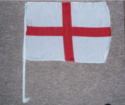 St George Car window flags