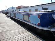 Wide Beam Canal Barge - Bristol Blue